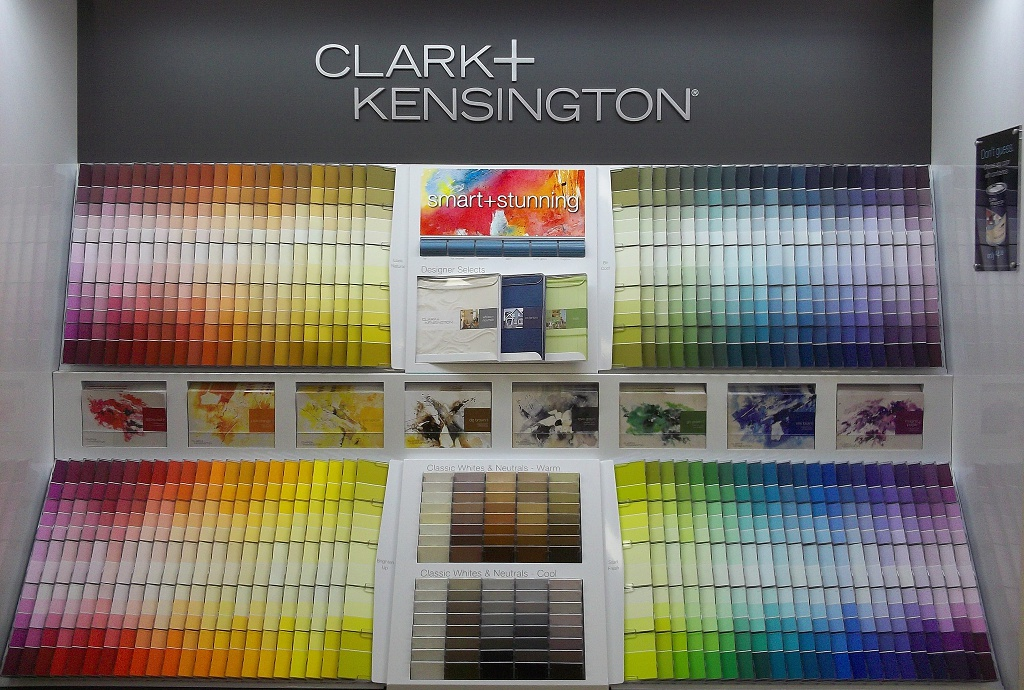 Clark Kensington Paint Colors Chart Dark Brown Hairs